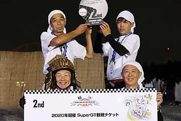 レッドブルボックスカートレース準優勝