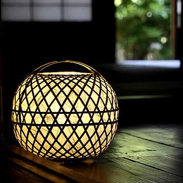 竹のインテリア/照明