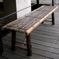 虎竹縁台 大 150cm