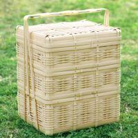 白竹三段ピクニックバスケット