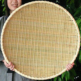 梅干しの土用干し約5kg用 梅干しざる(二重巻)特大 70cm