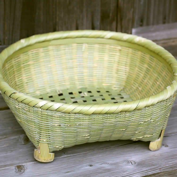 真竹茶椀籠