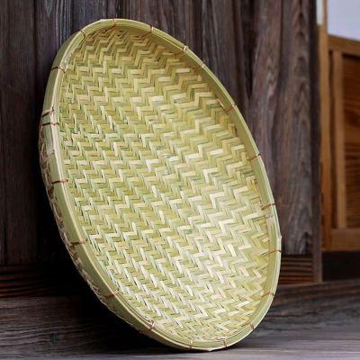 梅干しの土用干し約2kg用 国産竹ざる40cm