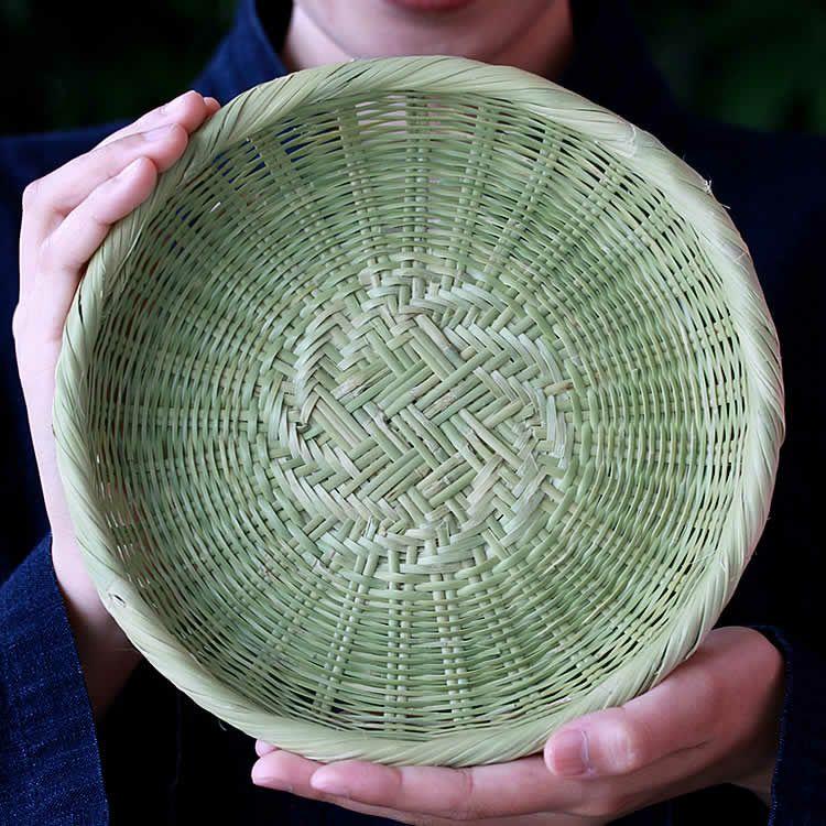 スズ竹蕎麦ざる(網代)20cm