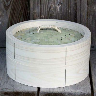 【国産】檜中華蒸籠(せいろ)30㎝身蓋セット