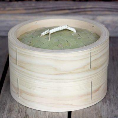 【国産】檜中華蒸籠(せいろ)24㎝身蓋セット
