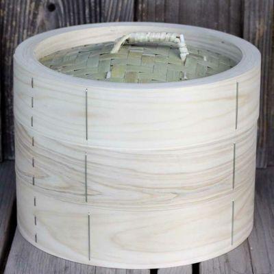 【国産】檜中華蒸籠(せいろ)30㎝身蓋二段セット