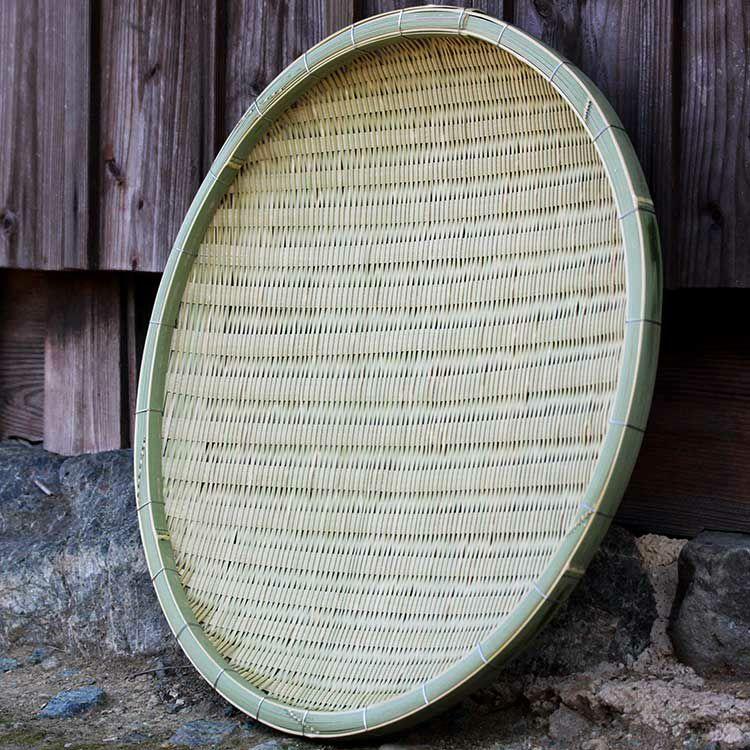 匠の横編竹ざる65cm