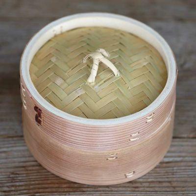 杉蒸籠(セイロ)15cm1段身蓋セット