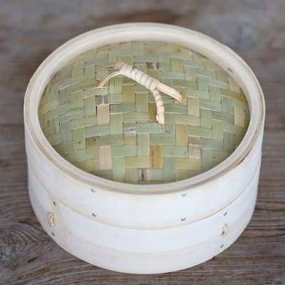 竹蒸篭(セイロ)18cm1段身蓋セット