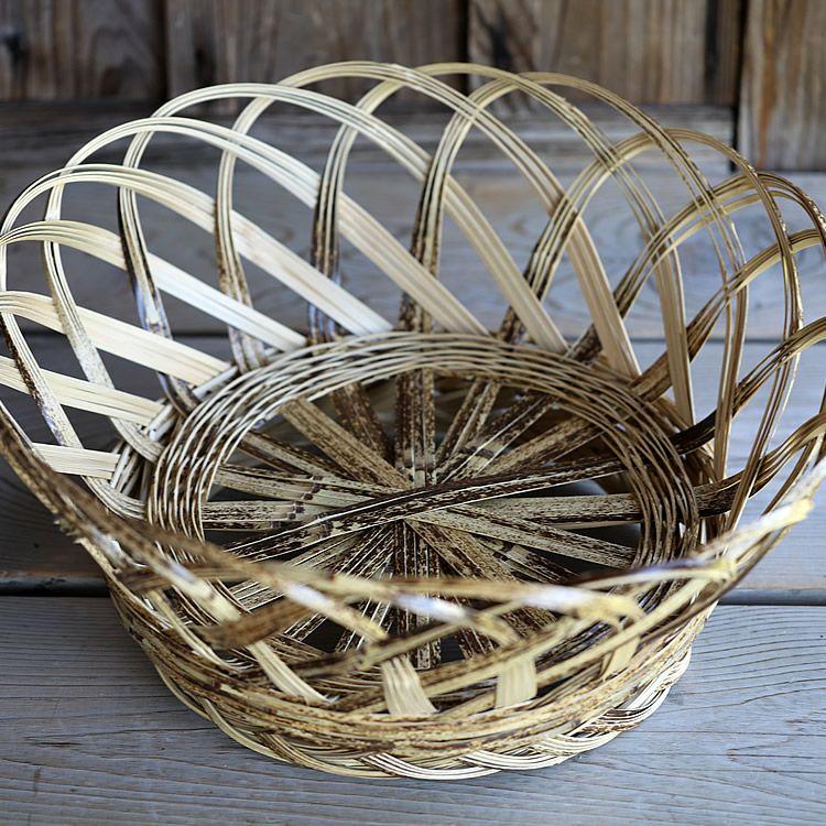 虎竹洗濯籠(特大)